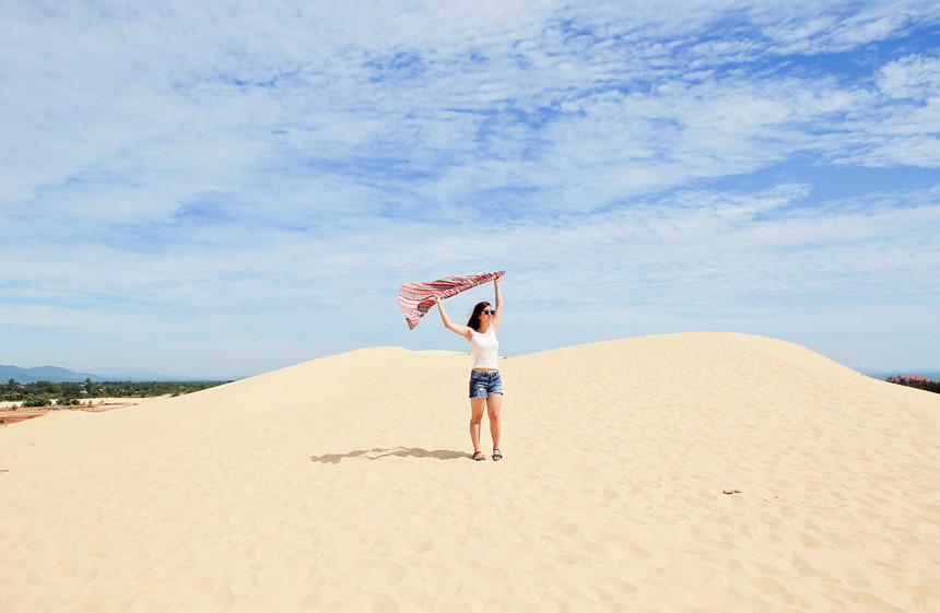 Cùng trải nghiệm Cồn cát Quang Phú