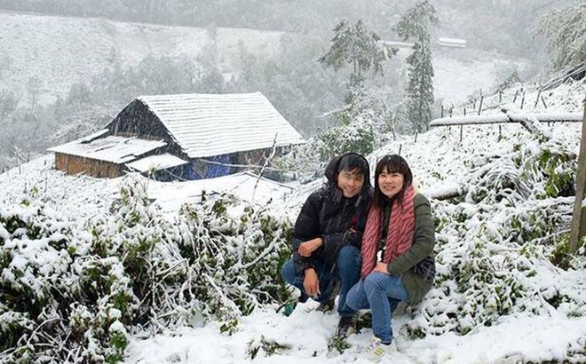 Ngắm tuyết rơi ở sapa trong mùa đông này
