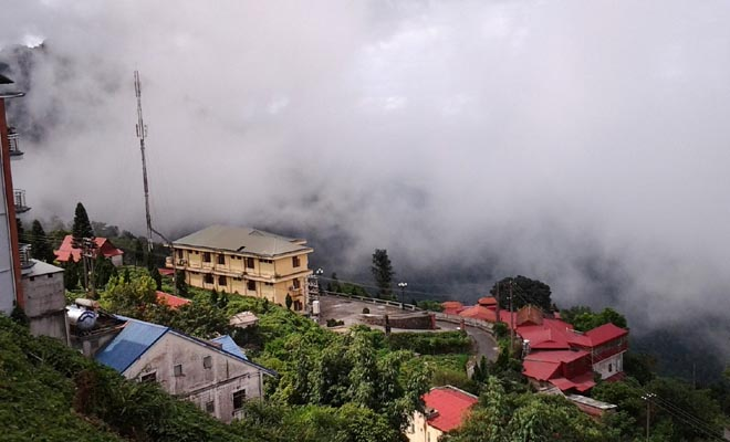 Săn mây ở Tam Đảo