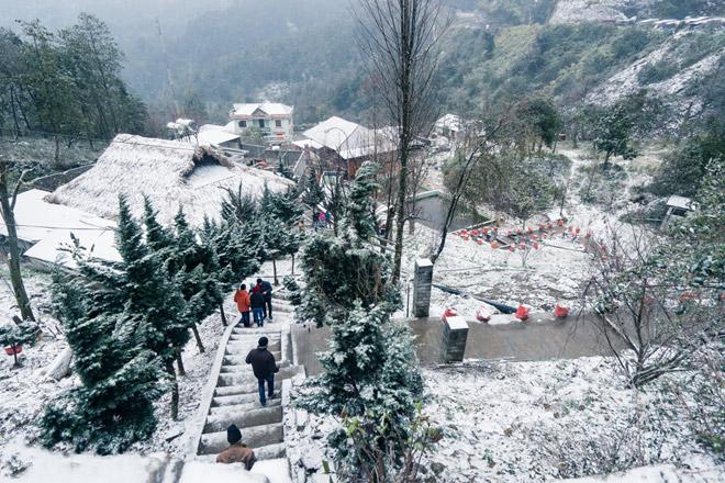 Sapa điểm đến thú vị của nhiều du khách trong mùa đông này