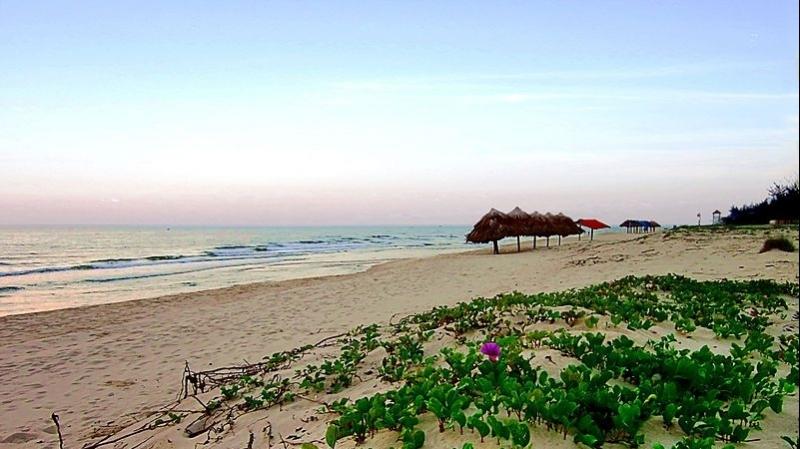 Ngắm vẻ đẹp hoang sơ tại bãi biển Nhật Lệ - Quảng Bình