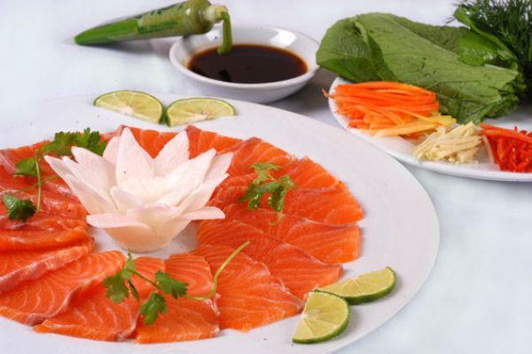 Cá hồi mẫu sơn món ăn không thể bỏ lỡ