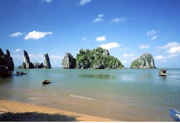 Đảo bà lụa một trong những hòn đảo đẹp nhất Việt Nam