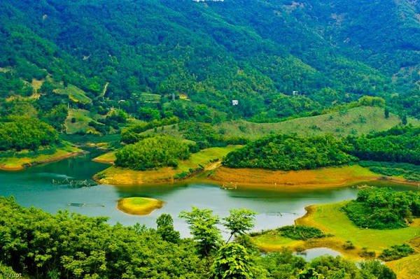 Du lịch Thung Nai điểm đến lý tưởng cho mùa hè