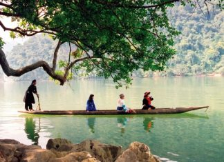 Du lịch Hồ ba bể mùa thu