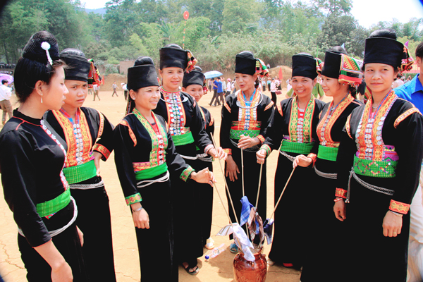 Nét độc đáo trong lễ hộiMah Grợ của dân tộc Khơ Mú