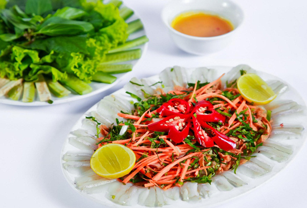 Gỏi cá mai món ngon hương vị biển Vũng Tàu