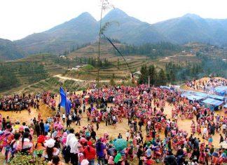 Nét độc đáo trong lễ hội gầu tào của người H'Mông