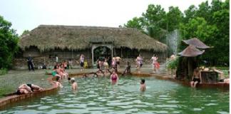 Du lịch mùa đông suối khoáng nước nóng Thanh Thủy