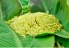 Cốm món ăn vặt đặc trưng mùa thu Hà Nội