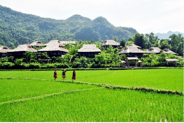 Cuộc sống bình yên, giản dị của những bản làng