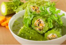 Mướp đắng nhồi thịt món ngon mỗi ngày của gia đình Việt