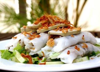 Bánh cuốn bà Thấu đặc sản Hải Dương hãy thử ngay
