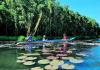 Khám phá khu du lịch sinh thái Làng Nổi tân lập - Long An