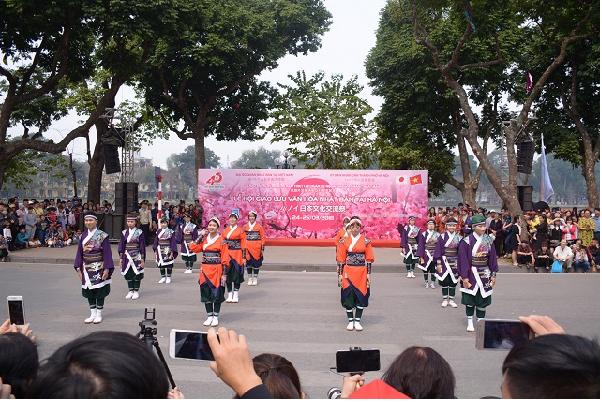 Lễ hội giao lưu văn hóa Việt Nhật diễn ra giữa lòng Hà Nội