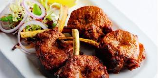 Sườn cừu nướng món ăn ngon nổi tiếng ở Ninh Thuận