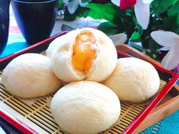 Cách làm bánh bao kim sa, món ngon hấp dẫn