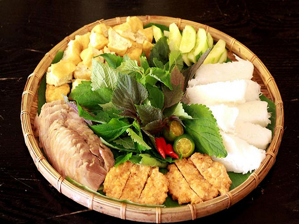 Bún đậu mắm tôm Hà Nội, món ngon hấp dẫn du khách