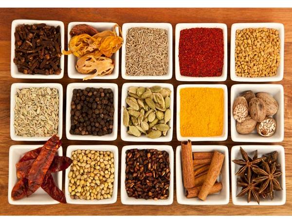 Gia vị chế biến các món ăn Ấn Độ