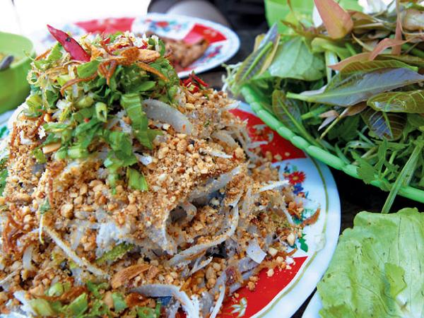 Gói cá mai đặc sản Ninh Thuận, món ngon hấp dẫn