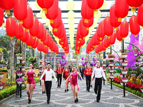 Lễ hội hoa xuân Sun World Halong Complex - điểm đến thu hút du khách