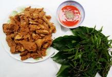 Thịt chua Phú Thọ - món ngon độc đáo vùng Thanh Sơn