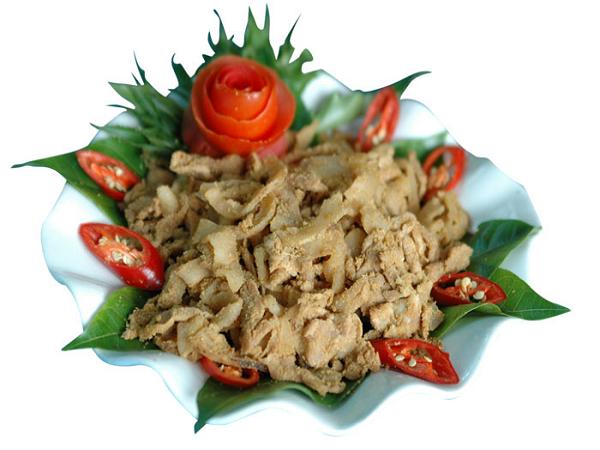 Thịt chua Phú Thọ - món ngon hấp dẫn thu hút thực khách