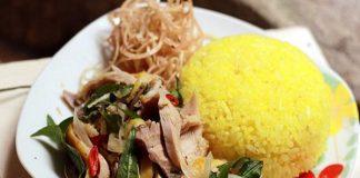 Cơm gà Hội An - món ăn ngon nức tiếng