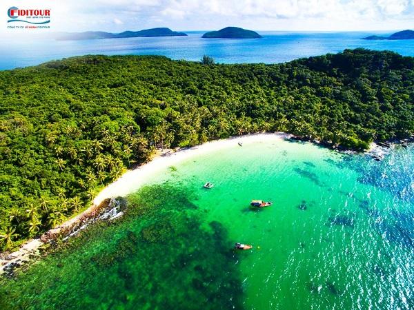 thiên đường biển đảo