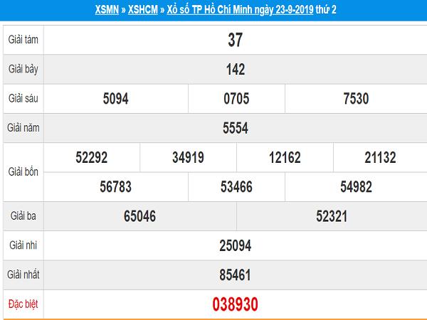 Tổng hợp dự đoán xổ số HCM ngày 30/09 chuẩn