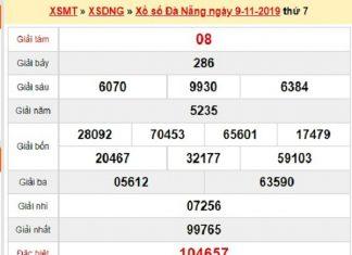 Dự đoán XSDNG 13/11/2019 - Dự đoán xổ số xổ số Đà Nẵng Thứ 4