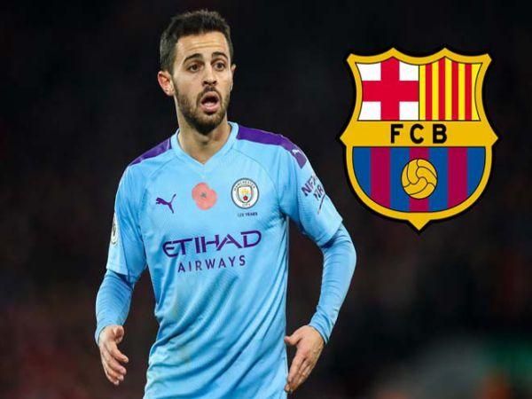 Chuyển nhượng sáng 14/8: Barca tính cuỗm Bernardo Silva khỏi Man City
