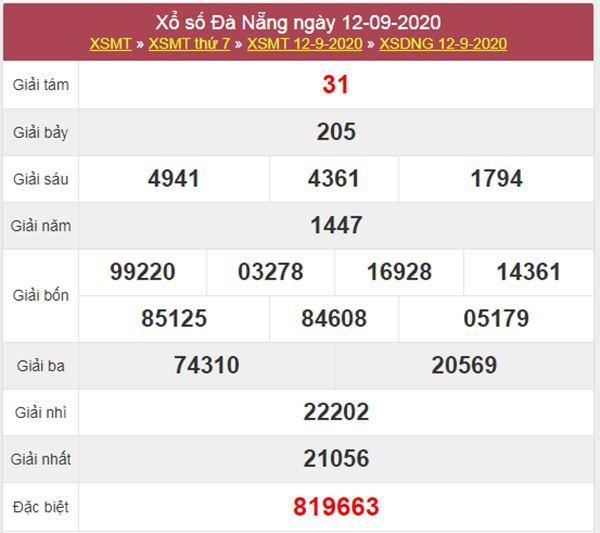 Dự đoán XSDNG 16/9/2020 chốt KQXS Đà Nẵng thứ 4