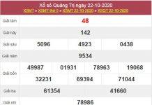Dự đoán XSQT 29/10/2020 thứ 5 hôm nay chính xác nhất