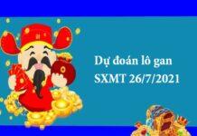 Dự đoán lô gan SXMT 26/7/2021