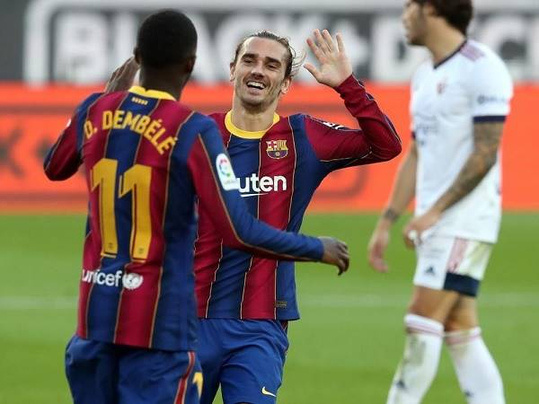 Chuyển nhượng tối 3/7: Griezmann và Dembele đều có thể ở lại Barca